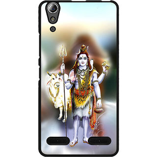 Instyler Digital Printed Back Cover For Lenovo A6000 Plus LENA6000PDS-10024