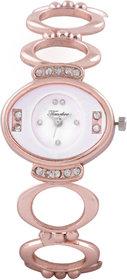 Timebre Gleaming Women Fancy Rose Gold Watch