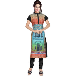 Dewberry Monument Print Kurti