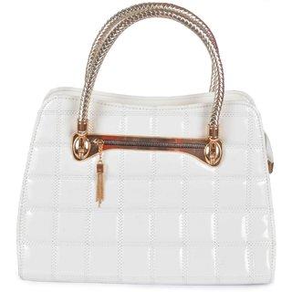 Tohfawala White Hand Bag