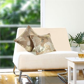 Eyda Glamour Sequin Cushion Cover (8906028301117)