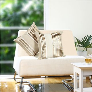 Eyda Pleated Ribbon Cushion Cover (8906028302107)