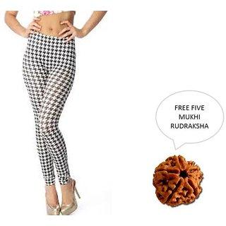 Mahna Imported Leggings For Women With Free Five Mukhi Rudraksha