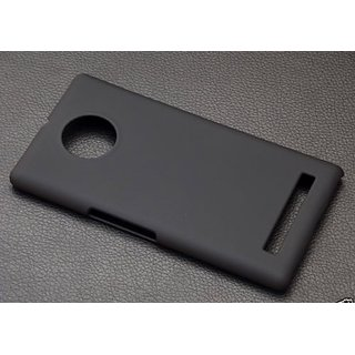 best loved f33fd 329b7 Hard Plastic Back Cover for MICROMAX YU YUPHORIA YU5010 + Free Screen Guard  black