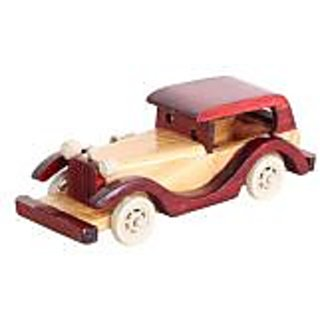 classic wooden vintage car