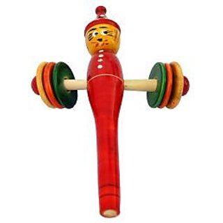 Musicman rattle wooden toy