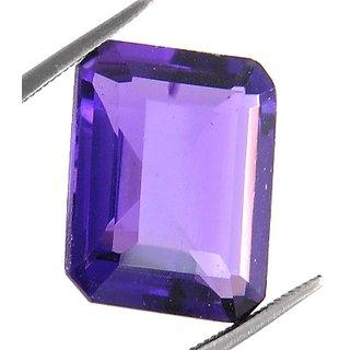 ruchiworld10.22 Ct Certified Amethyst Gemstone