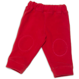Nino Bambino Red Polar Fleece Drawstring Pants