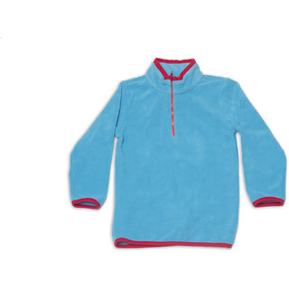 Nino bambino Highneck Sweatshirt With Half Placket (Baby)