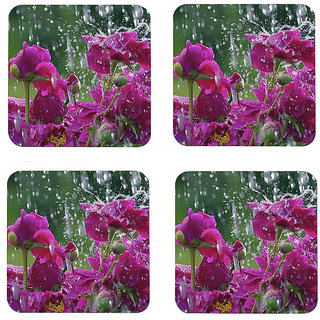 Instyler Digital Printed Tea Coasters (TCRDS-10418)