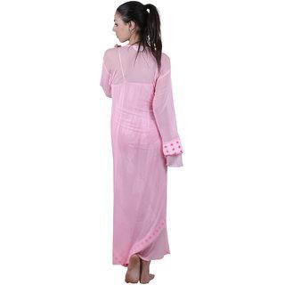 0733d4185ee Buy Vixenwrap Pink Printed Nightgown Online - Get 0% Off