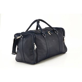 48c79248c MBOSS Faux Leather Unisex Blue Travel Duffel Bag TB006BLUESINGLE available  at ShopClues for Rs.1859