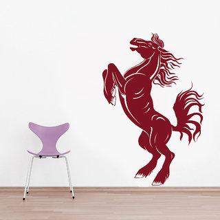 Decor Kafe Horse Wall Sticker (11x17 Inch)