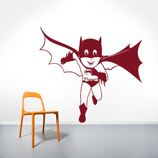 Decor Kafe Batman Wall Decal (26x24 Inch)