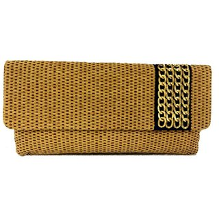 Maison Ethnic clutch with sling
