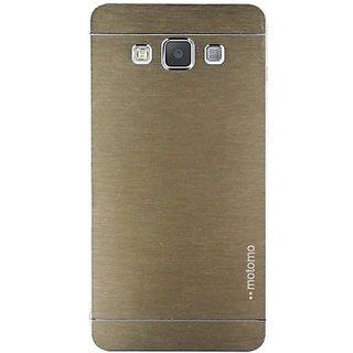 Motomo Back Cover for Samsung Galaxy J7(Metalic Gold)