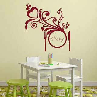 Decor Kafe Cuisine Wall Decal (17x18 Inch)