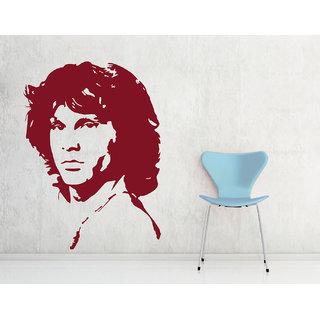 Decor Kafe Jim Morrison Wall Decal (33x45 Inch)