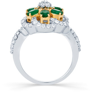 Karatcraft Verdante Diamond And Gold Ring Gold Purity 18Kt.