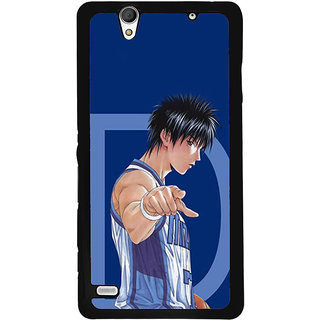 Instyler Digital Printed Back Cover For Sony C4 SonyC4Ds-10065