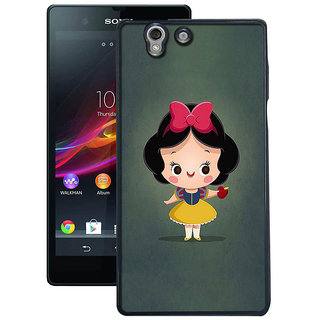 Instyler Digital Printed Back Cover For Sony Xperia Z SonyZDs-10040