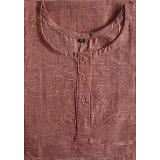 Organic Cotton Kurta Brown