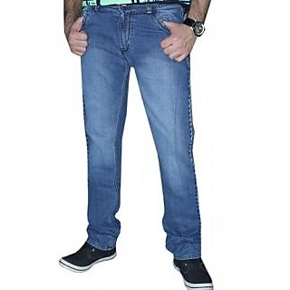 Stylish Mens Denim Cotton Stuff Jeans