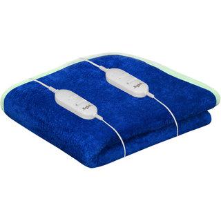 Akash Ganga Warmland Blue Electric Double Bed Warmer (AEB19)