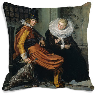 meSleep Men Portrait 3D Cushion Cover (16x16)
