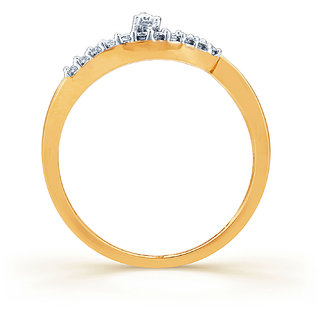 Karatcraft Rynka Diamond And Gold Ring  Gold Purity 18Kt.