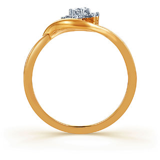 Karatcraft Lynne Diamond And Gold Ring  Gold Purity 18Kt.