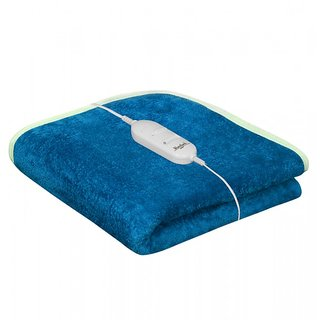 Akash Ganga Blue Warmland Electric Single Bed Warmer (AEB08)