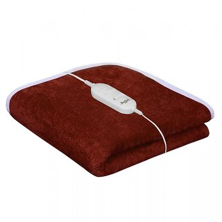 Akash Ganga Brown Warmland Electric SIngle Bed Warmer (AEB10)