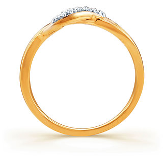 Karatcraft Pario Diamond And Gold Ring  Gold Purity 18Kt.