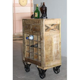 Rough Mango Wine bar made by wooden