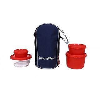 Signoraware Celebrity Lunch Box -Red (1000ml)