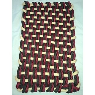 Akash Ganga Multi-Coloured Beautiful Door Mat (M36)
