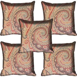 meSleep Ethnic Digitally Printed Cushion Cover (16x16)