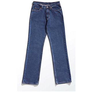 RKJ Blue Casual Cotton Jeans