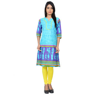 Juniper Cotton Printed Kurta