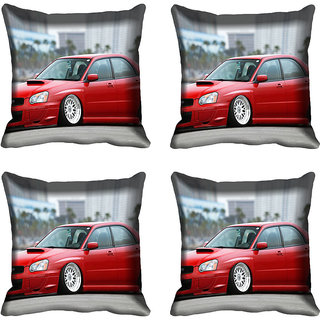 meSleep Car Digitally Printed Cushion Cover (16x16)