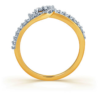 Karatcraft Corona Ring Gold Purity 18Kt.