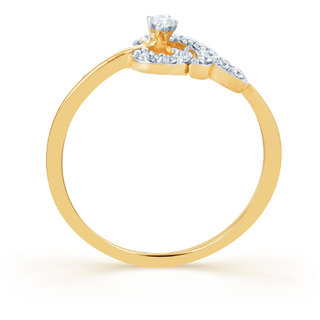 Karatcraft Spira Diamond And Gold Ring Gold Purity 18Kt.