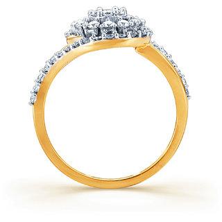 Karatcraft Artrixa Diamond And Gold Ring  Gold Purity 18Kt.