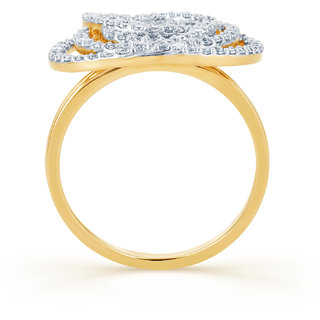 Karatcraft Roseira Diamond And Gold Ring Gold Purity 18Kt.
