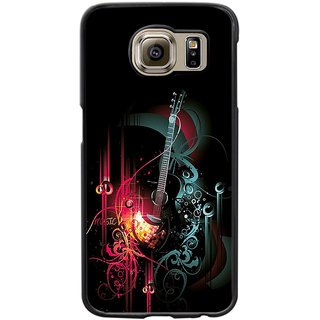 Instyler Digital Printed Back Cover For Samsung Galaxy S6 SgS6Ds-10054