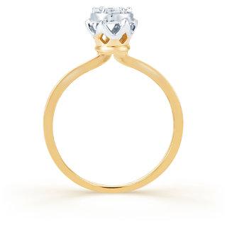 Karatcraft Esperanza Diamond And Gold Ring Gold Purity 18Kt.