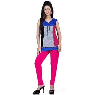 DesiButiks Raani Coloured Cotton Lycra Leggings BBL1024