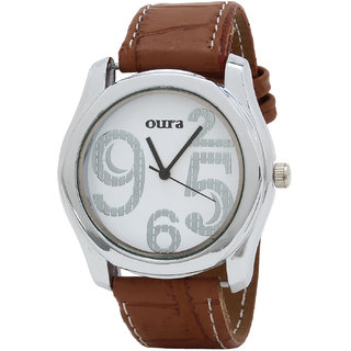 Oura White Dial WWSBR-108 Analog Watch For Men