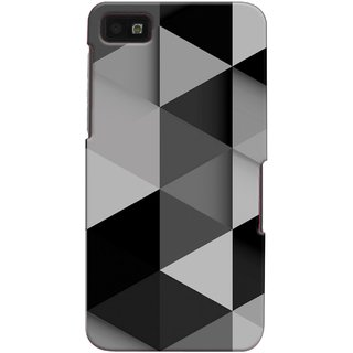 Snooky Back Cover Cases For Blackberry Z10 Grey